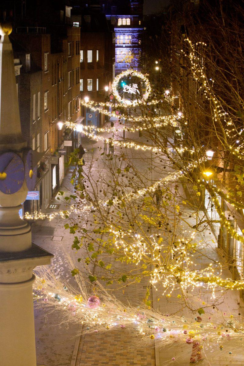 The Seven Dials Christmas Lights