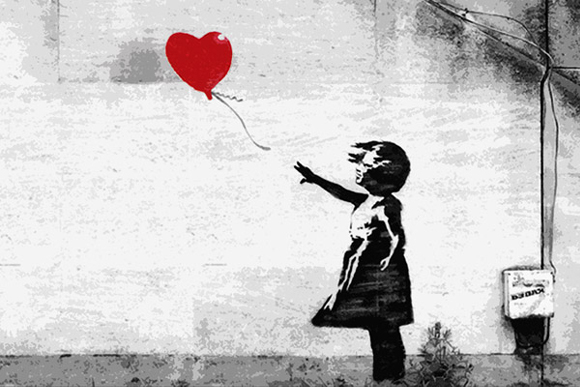 The Art of Banksy Exhibition in Seven Dials